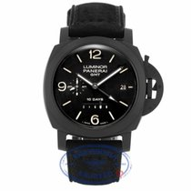 Panerai Luminor 1950 GMT 10 Days Black Dial Ceramic