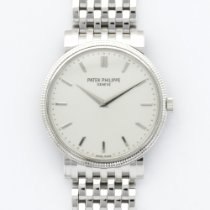 Patek Philippe White Gold Calatrava Automatic Bracelet Ref....