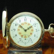 Geneva Sport Watch 14kt 585 3 Deckel Gold Savonette Sprungdeck...