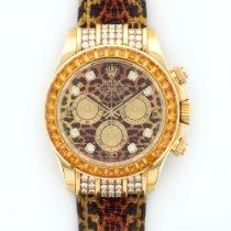 Rolex Yellow Gold Cosmograph Daytona Leopard Ref. 116598