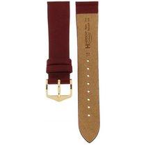 Cartier Hirsch Glittering Bordeaux Cashmere Strap 18mm