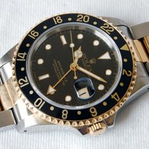 Rolex GMT-Master II Steel / Gold - Black dial - Mint condition