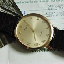 Rolex cellini 18 kt gold yellow 32mm fullset nice condition