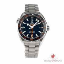 Omega Seamaster Planet Ocean 600M Co-Axial GMT