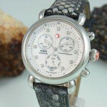 Michele Csx Chronograph Diamond Perlmutt Zifferb. Saphir...