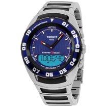 Tissot Men's T056.420.21.041.00 Blue Dial Sailing Touch Watch