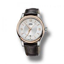 Oris Armbanduhr Leder Classic Date
