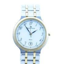 Maurice Lacroix Classic Herren Uhr Stahl/gold Vergoldet Quartz...