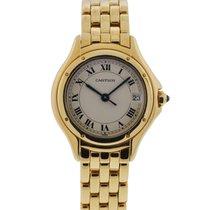 Cartier Cougar Watch Ladies 18k Yellow Gold
