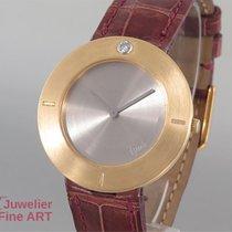 Bunz Design-Time Gelbgold 750 mit Titankern - 1 Brillant 0,08ct