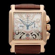 Franck Muller King Conquistador Chronograph 18k Rose Gold...