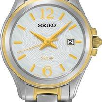 Seiko Solar SUT234P1 Elegante Damenuhr Sehr Elegant