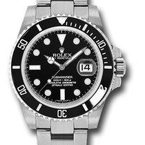 Rolex 116610LN submariner ceramic steel never worn stickers