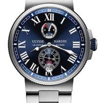 Ulysse Nardin Marine Chronometer Stainless Steel Men's Watch
