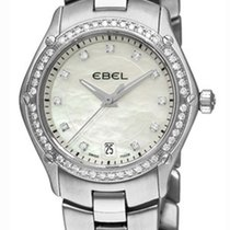Ebel 1215983,9953Q24/99450 Classic Sport in Steel with Diamond...