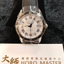Cartier Horomaster-Ronde Croisiere Automatic Silver Dial Mens...