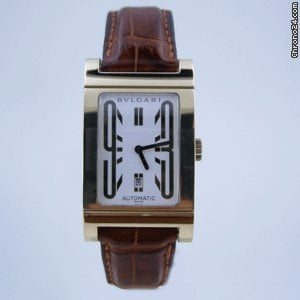 Bulgari RETTANGOLO GOLD MEDiUM SiZE