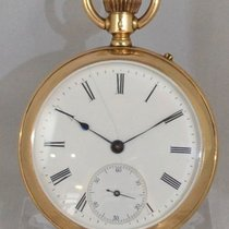 IWC Taschenuhr 14ct. gold um 1894