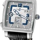 Ulysse Nardin Quadrato Dual Time Mens Watch