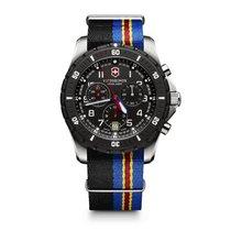 Victorinox Swiss Army Maverick Sport Chronograph black dial,...
