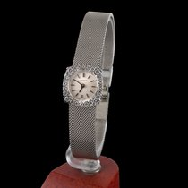 Longines classic white gold and diamonds lady manual winding