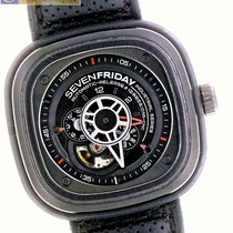 Sevenfriday SF-P3/01 47MM PVD DLC Automatic Miyota 82S7...