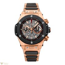 Hublot Big Bang Unico Automatic 18K Rose Gold Ceramic Men'...