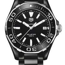 TAG Heuer Aquaracer Quartz Ceramic Black Dial 35MM T