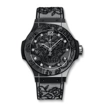 Hublot Big Bang 41mm · Broderie 343.SS.6570.NR.BSK16