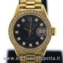 Rolex Datejust Lady Quadrante e ghiera con brillanti 69138