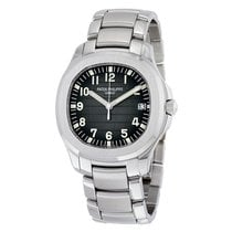 Patek Philippe Aquanaut Black Dial Stainless Steel Automatic...