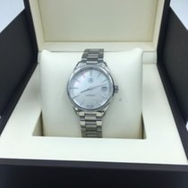 TAG Heuer Carrera White Mother Of Pearl Dial Ladies Quartz...