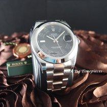 Rolex 116300 Datejust II Black Roman Dial Smooth Bezel [N E W]