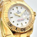 Rolex Yachtmaster 18K Gold 40mm LC100 ALL STICKERS ON FULL SET...