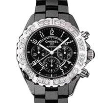 Chanel J12 Black Chronograph H1178