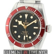 Tudor Heritage Black Bay Automatic Black Dial Red Bezel 41mm