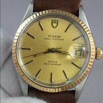 Tudor Prince Oyster Date Gold and Steel case