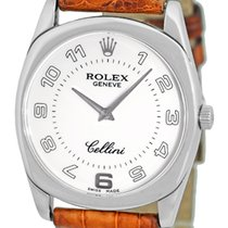 """Rolex Cellini """"Danaos"""" Strapwatch."""