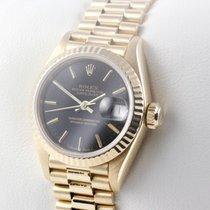 Rolex LADY DATEJUST 18K GOLD GELBGOLD SERVICE 08/2016