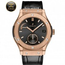 Hublot - CLASSIC FUSION POWER RESERVE KING GOLD
