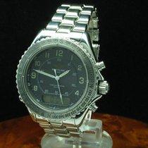 Breitling Intruder Reveil Chronograph Edelstahl Herrenuhr /...