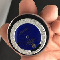 Rolex Pie Pan Dial 1803 Diamond Blue Topaz None Quick 36 Mm
