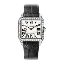 Cartier Santos Dumont Quartz Ladies Watch Ref WH100251