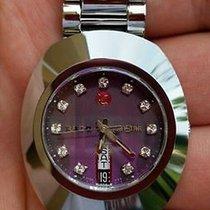 Rado Diastar Purple Dial Diamond Stainless Steel