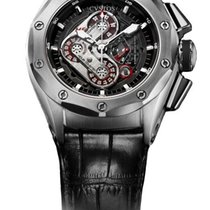Cvstos Challenge-R50 HF Concept Men's Watch, Steel, Black...