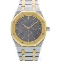 Audemars Piguet Royal Oak Dual Time Power Reserve 18K YG/SS