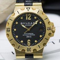 Bulgari SD38G Diagano Professional Scuba Automatic 18K YG (25223)