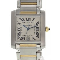 Cartier Large Cartier Tank Francaise 2302 Automatic 18K YG/SS