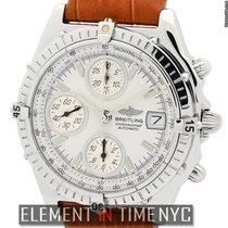 Breitling Chronomat Stainless Steel 39mm White Dial Ref. A13050.1