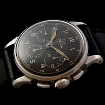 Omega Rare Stainless Steel Chronograph 50's